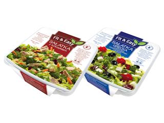 Dwie nowe sałatki od Fit&Easy.