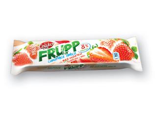 FRUPP o smaku truskawkowym.
