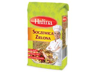Soczewica Zielona marki Halina.
