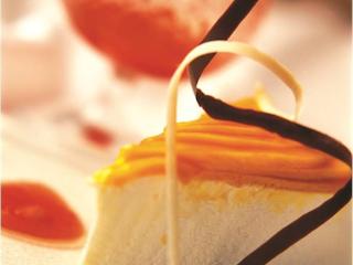 Przepis na sernik z mango.