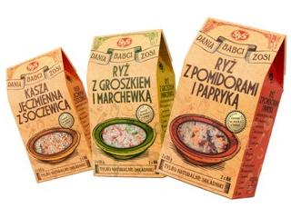Nowość od SyS - Dania Babci Zosi, czyli ryż i kasza z warzywami