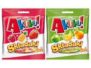 Pierwsze żelki zmieniające smak Akuku! Składaki.