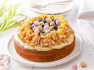 Wielkanocne ciasto cytrynowe