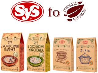 Gotowe zupy i dania firmy SyS