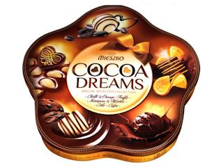Czekoladki Mieszko z nową elegancką puszką Cocoa Dreams.