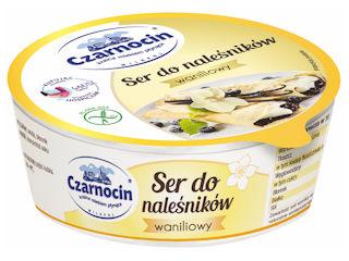Ser do naleśników waniliowy Czarnocin – z krainy mlekiem płynącej.