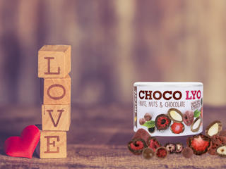 Choco Lyo na walentynki od Mixit.