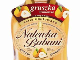 Nalewka Babuni o smaku gruszki