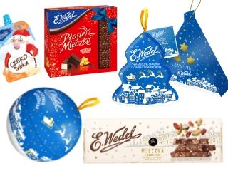 Piękne świąteczne opakowania, czyli jak Wedel przygotowuje się do świąt.
